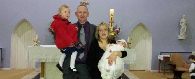 Rebecca Fitzpatrick's baptism
