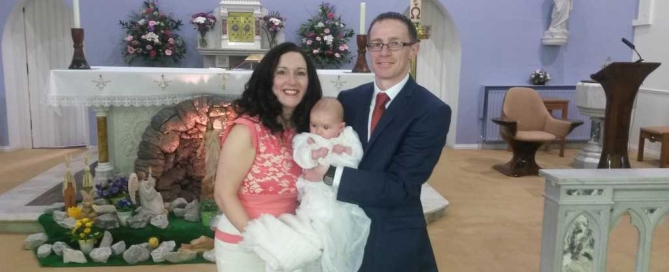 Julianne, Peter and Baby Julie Ryan
