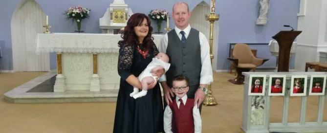 Micheál Doherty Baptism