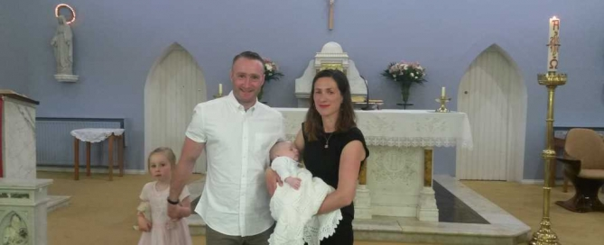 O'Keeffe Family Baptism