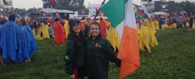Flying the Irish Flag in Krakow