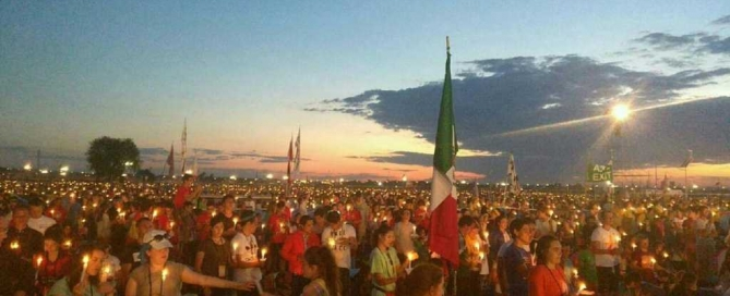 Lights shine bright in Krakow