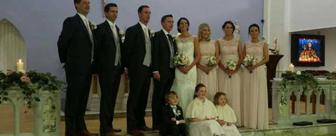 Pat and Elmarie's wedding