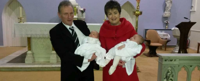Twins, Siobhan & Tom Browne