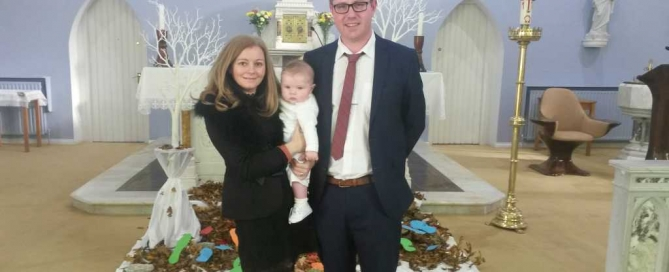 Baptism of Conor McAuliffe
