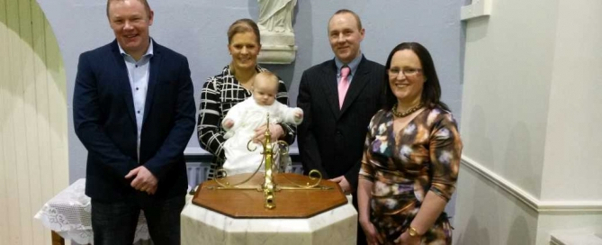 O' Brien Family baptism