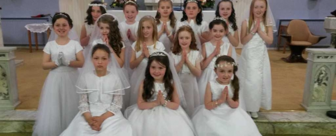 Girls 1st Communion 2018