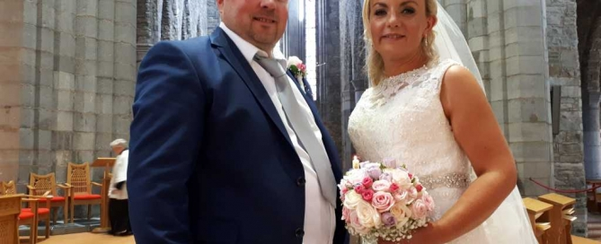 Deirdre and Ciaran Wedding