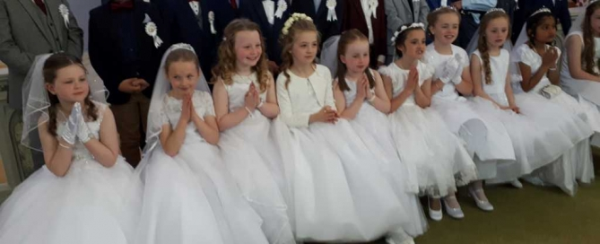 First Holy Communion Children 2019